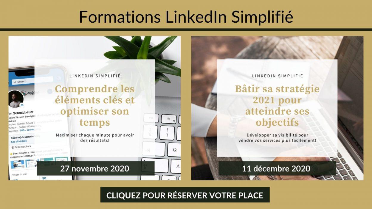 Lien vers la formation LinkedIn